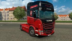 Legend Is Live Skin for Scania RJL