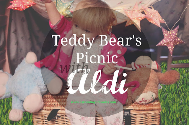teddy bear's picnic with Aldi - my entry to the Aldi #mamiadaysout challenge with Britmums - showcasing how Aldi Mamia products can be used on a family day out
