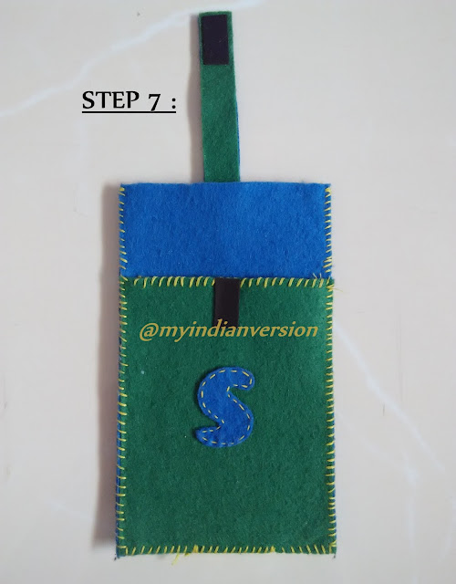 DIY : Felt Mobile Cover Tutorial