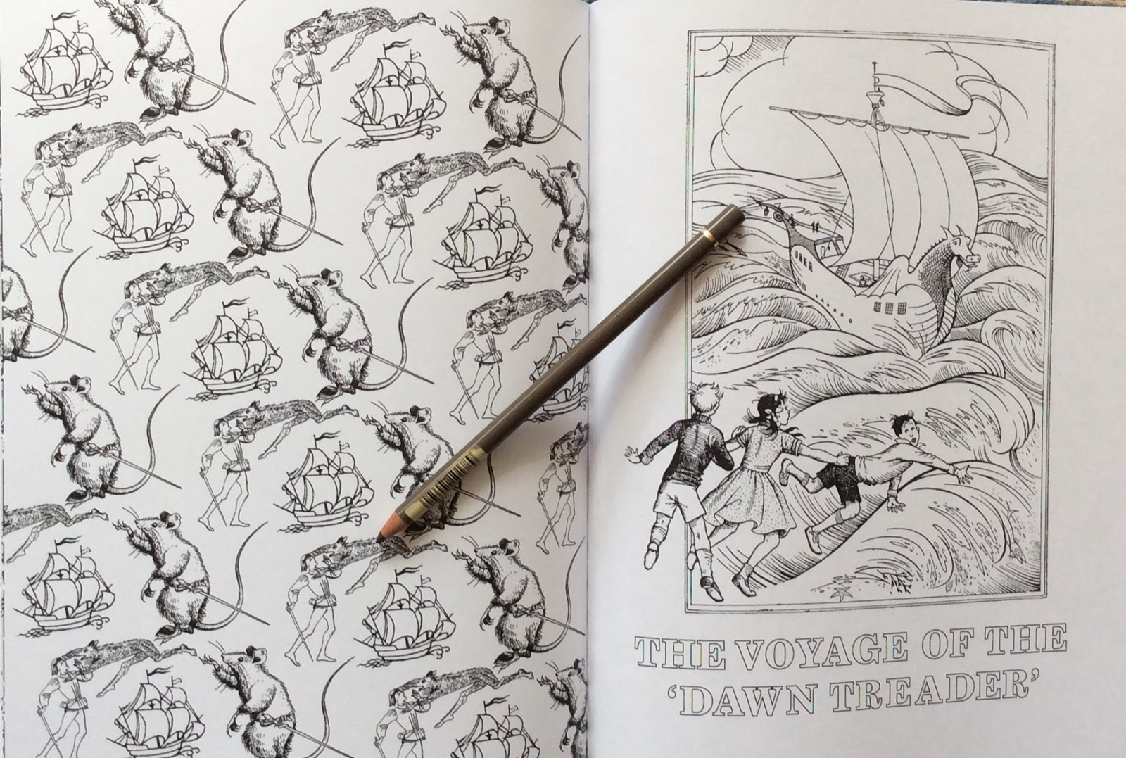 Colouring pages narnia - Title Page