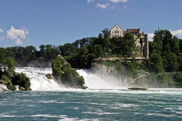 Cataratas del Rin (Rheinfall, Suiza)