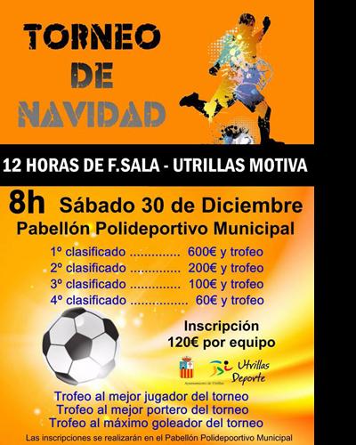 Torneo de Navidad de 12 horas de Fútbol Sala