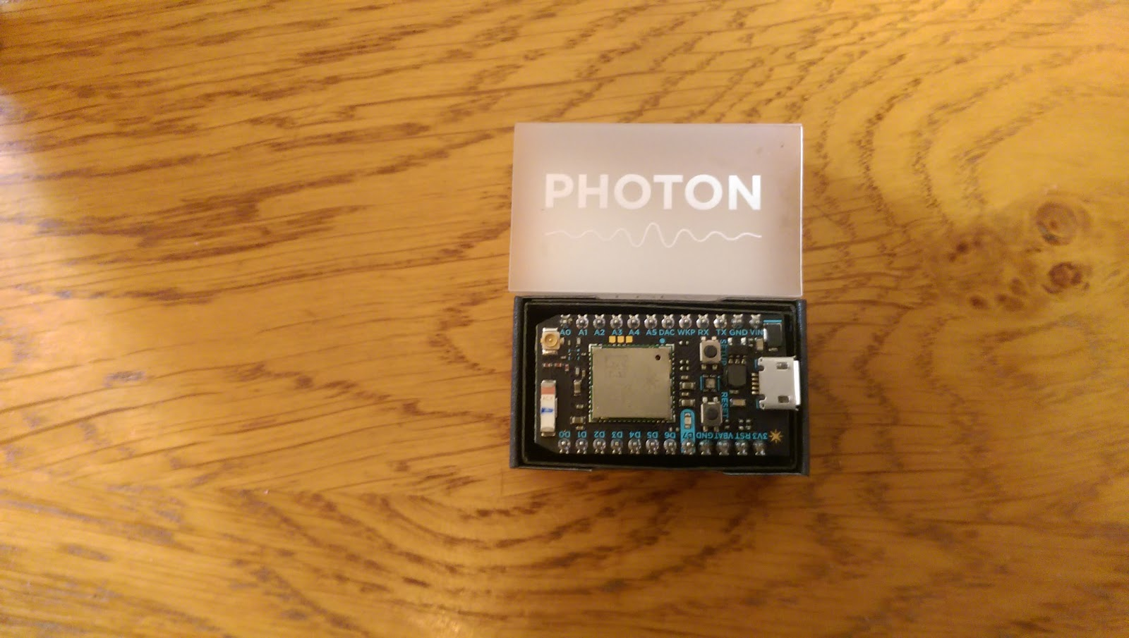 Code Frieze: Move over Arduino Uno, Particle Photon is here!