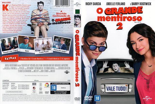 Capa DVD O Grande Mentiroso 2