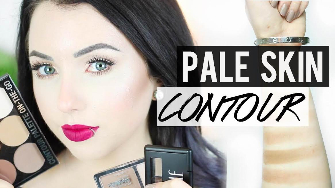 best contour products for pale skin thataylaa. Black Bedroom Furniture Sets. Home Design Ideas