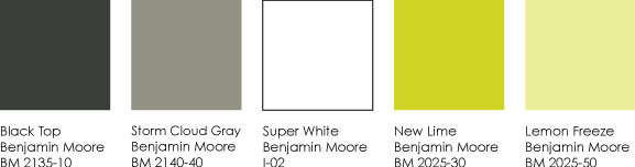 So Here Is Our Palette For Lime Green We Hope To Use Again In The Near Future