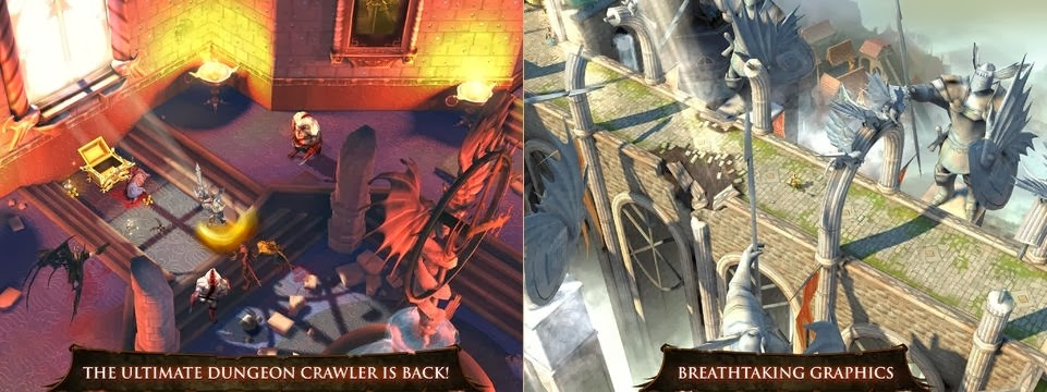 Dungeon Hunter 4 ipod touch ipad iphone
