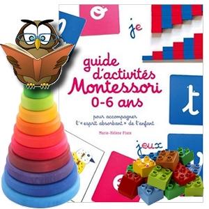 guide d'activités Montessori 0-6 ans Marie-Hélène Place éducation pédagogie assistante maternelle avis critique chronique blog