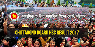 HSC Result 2017 Chittagong Board
