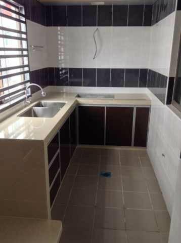 Perancangan Reka Bentuk Ubah Suai Dapur Dan Kos Untuk Rumah Teres 2