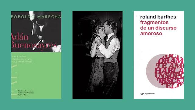 Tres libros o el amor en los tiempos de San Valentín