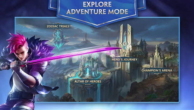 MOBA Mobile Heroes Evolved