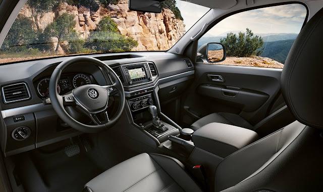 VW Amarok V6 2018 - interior