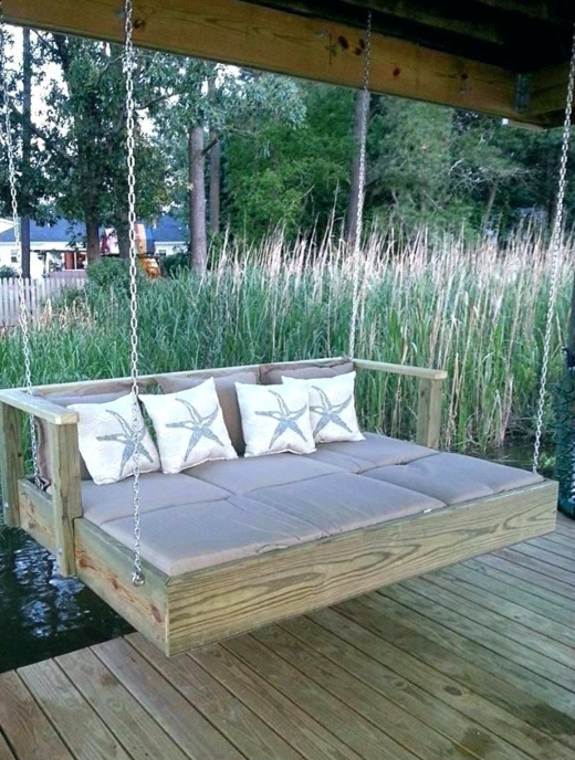 Outdoor Hanging Swing Daybed Ideas Sleeping Porches For Coastal Living Coastal Decor Ideas Interior Design Diy Shopping