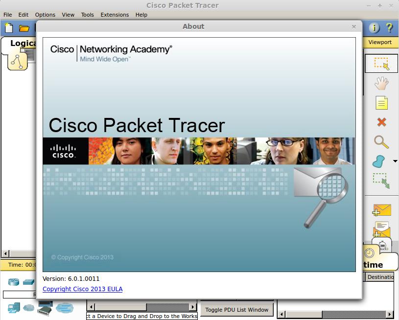 Установка Cisco Packet Tracer 6 0 1 на Ubuntu (Install Cisco Packet