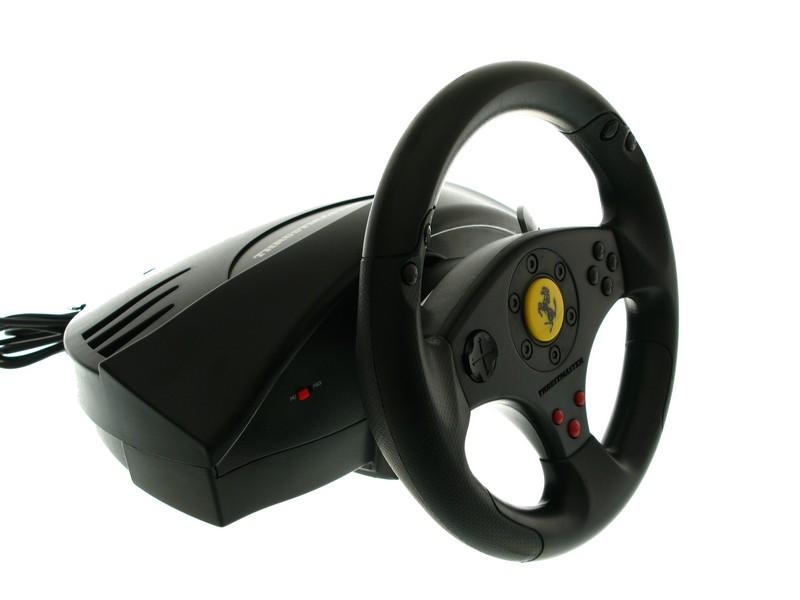 Game Steering Wheel Reviews: Thrustmaster Ferrari GT review