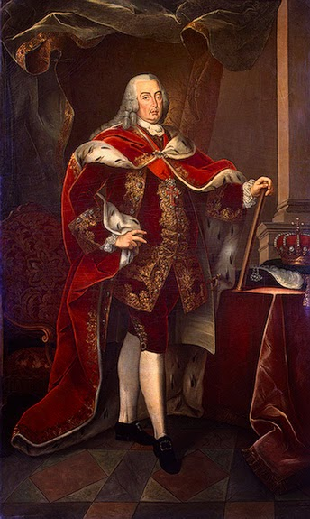 Joseph I of Portugal by Miguel António do Amaral, 1773