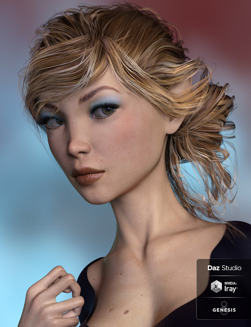 Breena, Ella and Bodysuit for Genesis 8 Female