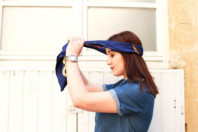 Carré d'Hermès turban