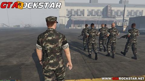 Pack de Skins Exército Brasileiro para GTA V