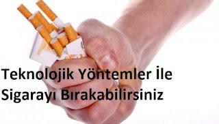 Teknolojik Yöntemler İle Sigarayı Bırakabilirsiniz