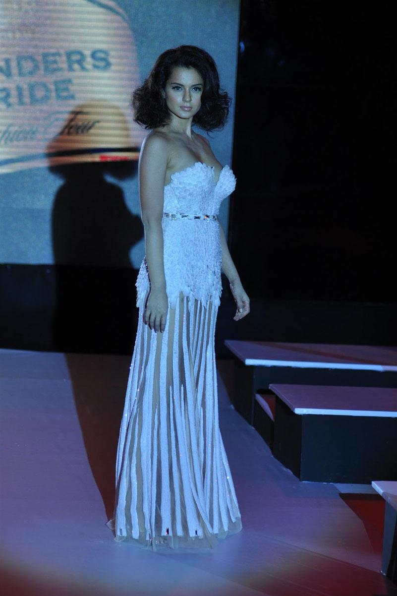 Kangana Ranaut latest Stills In White Dress