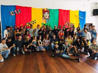 Prefeitura de Miracatu realiza dia de folia para jovens atendidos no Centro de Referência da Juventude
