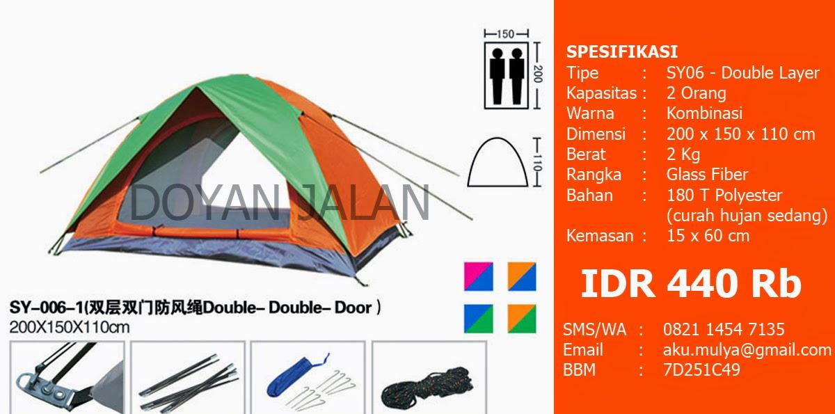 Jual Tenda Dome Kapasitas 2 Orang Murah Jakarta