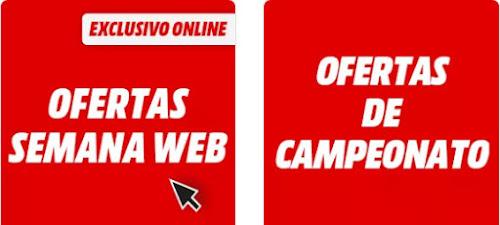Mejores descuentos Semana Web y Ofertas de Campeonato de Media Markt
