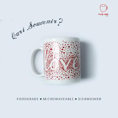 Cari souvenir murah? Lagi trendy dan elegan? Mug-App aja