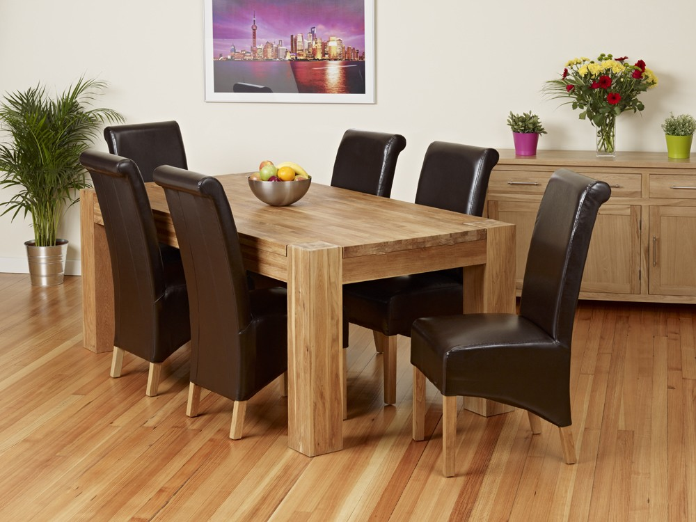 Best Design kitchen table and chairs in oak