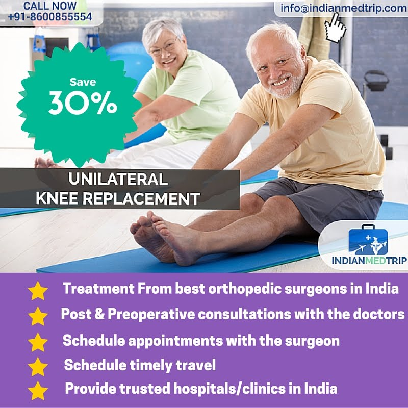 Knee Replacement Surgery Benefits With IndianMedTrip