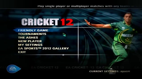 EA Sports Cricket 2012 Free Download Pc Game