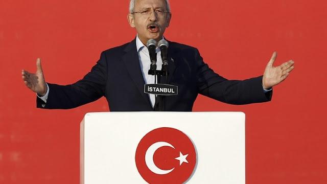 """Κιλιτσντάρογλου: """"Τύραννος ο Ερντογάν, δεν υπάρχει νόμος ή δικαιοσύνη στην Τουρκία"""""""