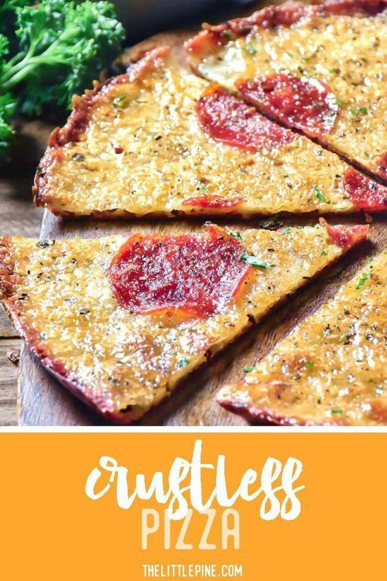 LOW CARB CRUSTLESS PIZZA PERFECTION