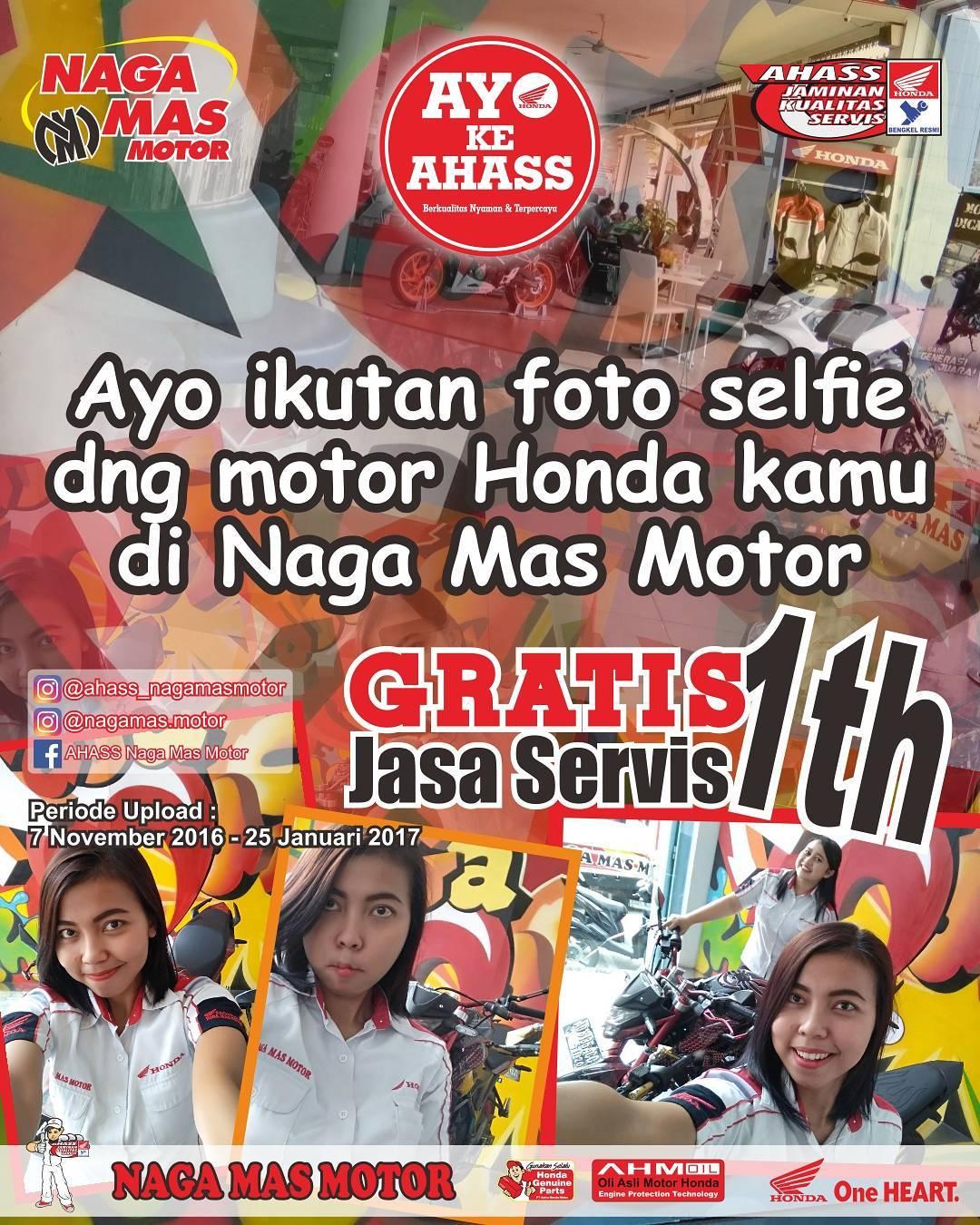 Anisa Counter Sales Dealer Nagamas Motor Klaten All New Beat Sporty Esp Cbs Funk Red Black Kudus Foto Selfie Honda Gratis Jasa Servis Promo Ahass