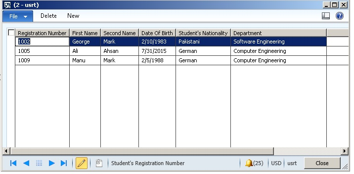How to: Create a Simple Data Entry Form in Dynamics AX