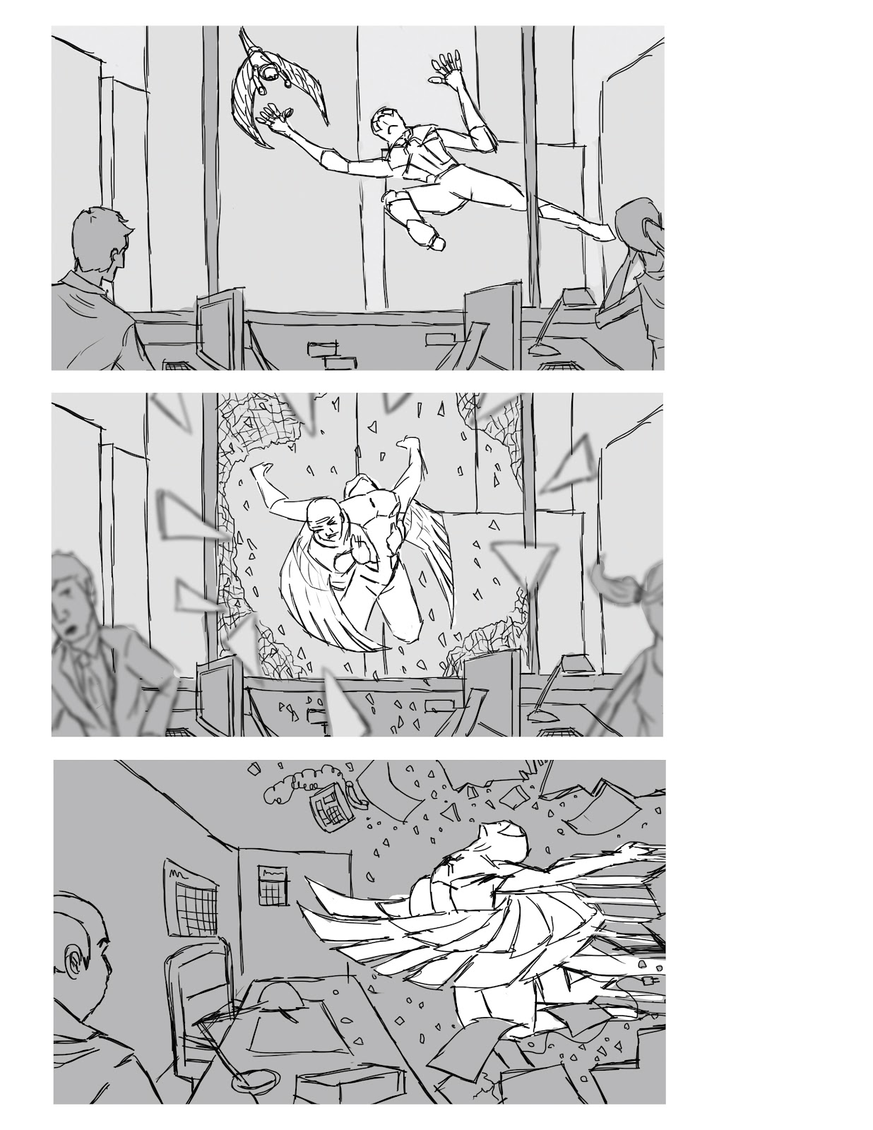 Amazing Spider Man 2 Storyboard