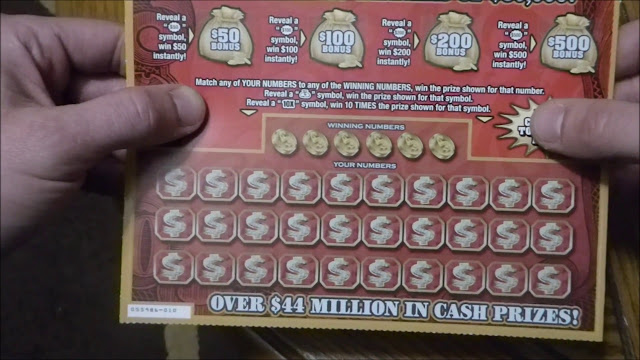 Big Money scratch ticket