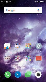 Meizu M5 Note Home Screen