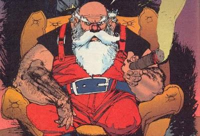 Papai Noel hq mutante lobo gaiman klaus