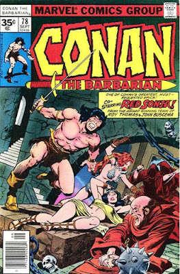 Conan the Barbarian #78, Red Sonja is back
