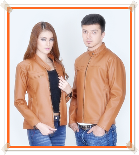jaket couple kulit