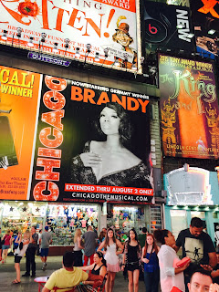 chicago broadway times square billboard