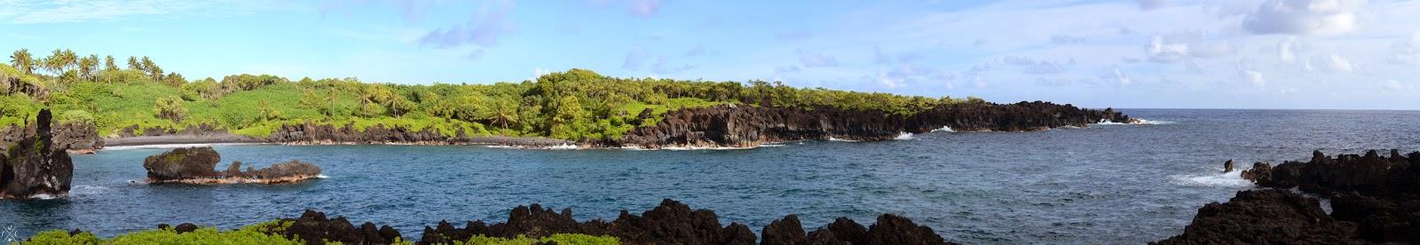 Wai'ānapanapa State Park (Black Sand beach) - Maui, Hawaii - Hawaï