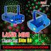 Đèn laser đồ chơi mini giá rẻ trang trí phòng karaoke