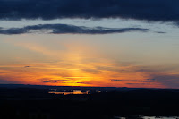 Coucher du soleil à Messilä 22h42
