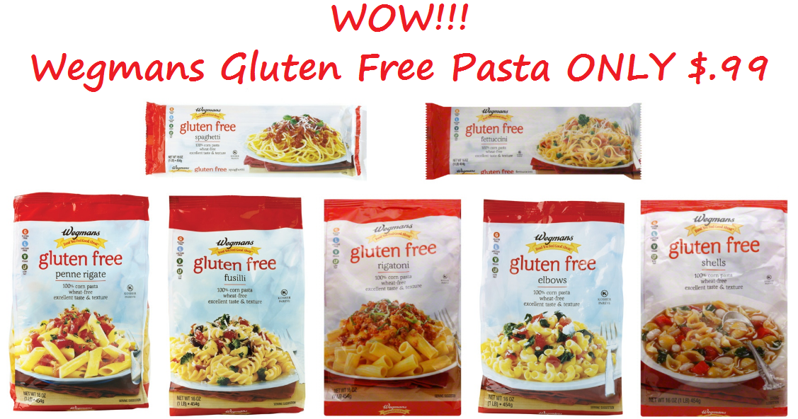 Extreme Couponing Mommy: Wegmans Gluten Free Pasta ONLY $.99