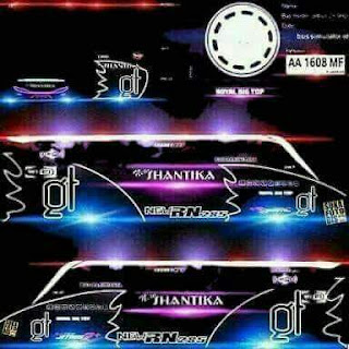 Download Livery Bus Shantika