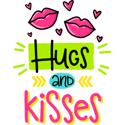 Hugs and Kisses Emoji